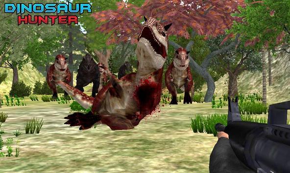 Dinosaur Hunting Jungle Sniper poster