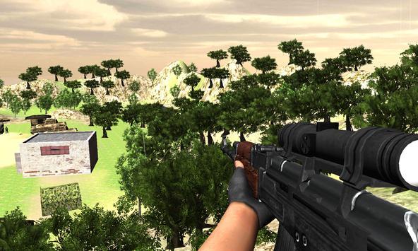 Army Sniper Mission Impossible - Gun Shooter War screenshot 2