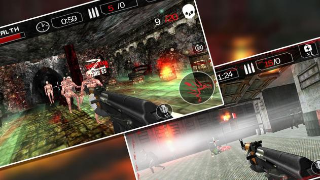 Zombie Death Shooter:Target 16 apk screenshot