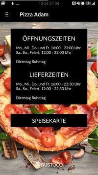 Pizza Adam poster