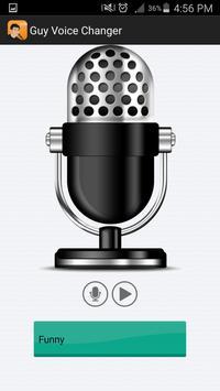 Guy Voice Changer screenshot 1