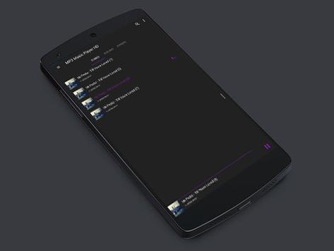 MP3 Music Player HD screenshot 1