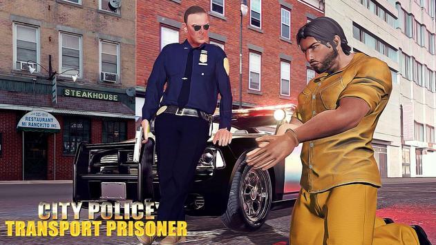 City Police Transport Prisoner poster