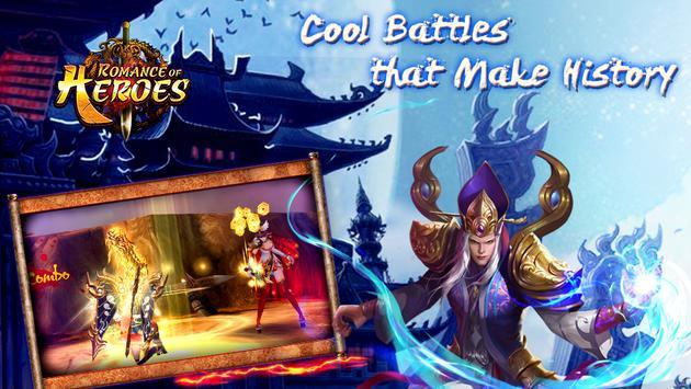 Romance of Heroes:Realtime 3v3 apk screenshot