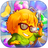 Fruit Games Match 3 Puzzle icon