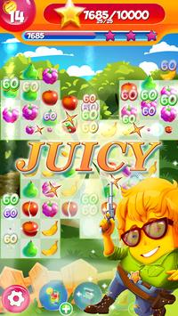 Fruit Games Match 3 Puzzle poster