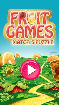 Fruit Games Match 3 Puzzle apk screenshot
