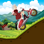 Granny Fun Hill Climb Race icon