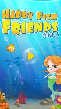 Happy Fish Ocean Match 3 Mania poster