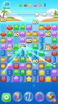 Happy Fish Ocean Match 3 Mania screenshot 2