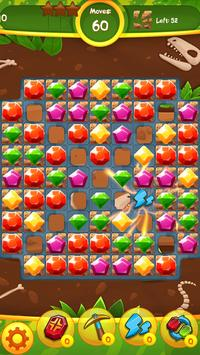 Jewels Jam: Puzzle World Dino screenshot 5