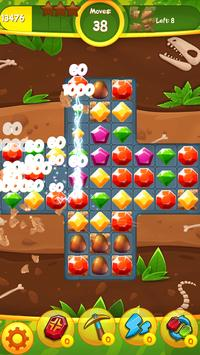 Jewels Jam: Puzzle World Dino screenshot 14