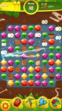 Jewels Jam: Puzzle World Dino screenshot 2