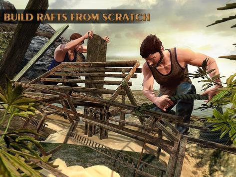 Raft Survival Hero Escape apk screenshot