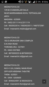 Meenatchi & Co Madurai apk screenshot