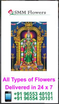 SMM Flowers Madurai poster