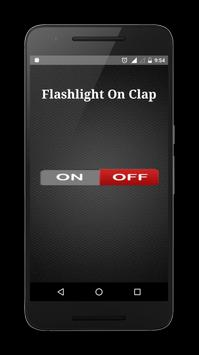Flashlight on Clap poster