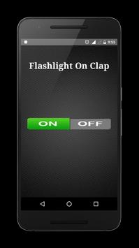 Flashlight on Clap apk screenshot
