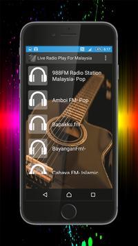 Live Radio Play For Malaysia poster