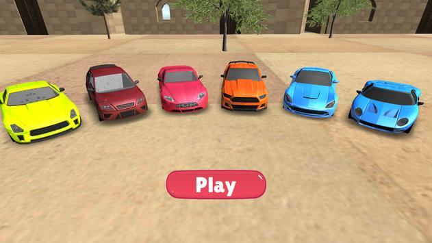 Multi Car Parking Games poster