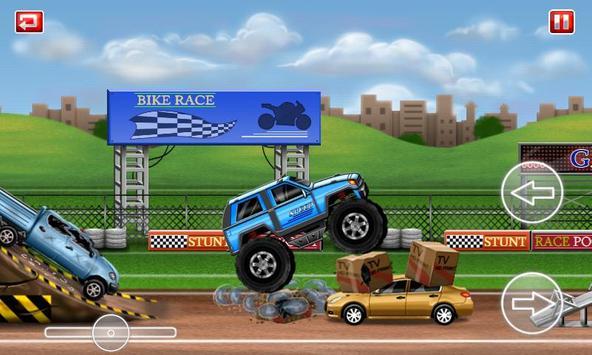 Monster Truck Stunt Lite screenshot 4