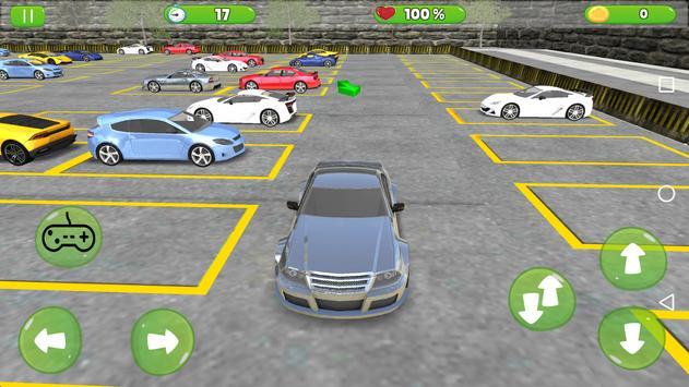 Crazy Prado Car Driving poster