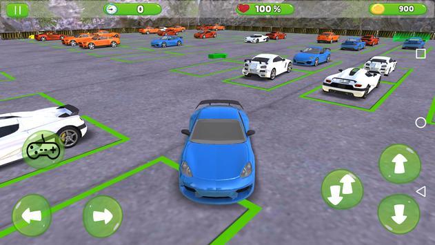 Luxury Prado Car Parking Games screenshot 3