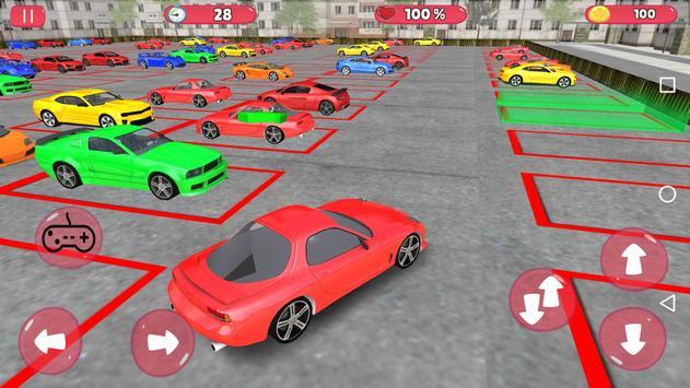 Unlimited Car Parking 3D poster