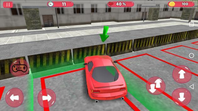 Unlimited Car Parking 3D screenshot 1
