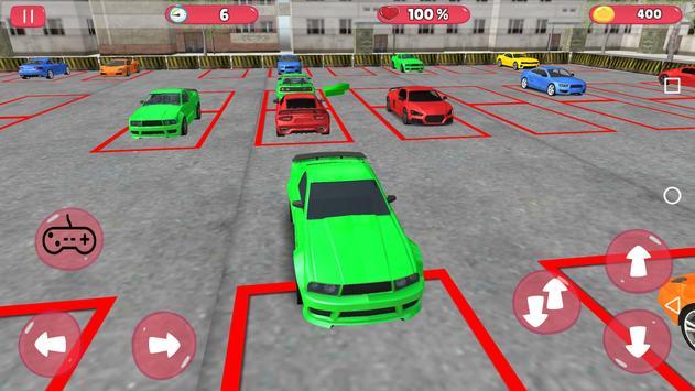 Unlimited Car Parking 3D screenshot 4