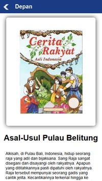 Cerita Rakyat Bangka Belitung apk screenshot