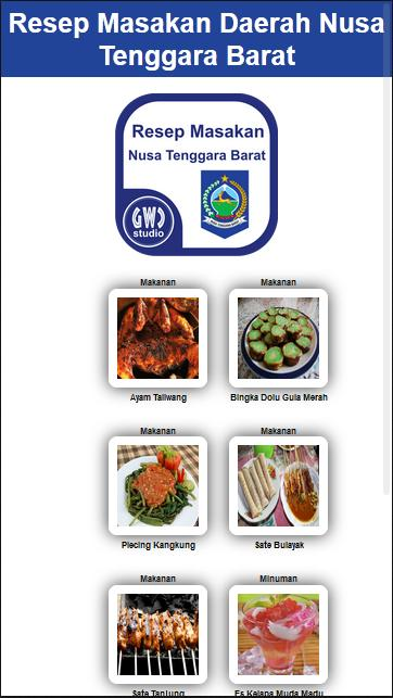 Resep Masakan Ntb For Android Apk Download