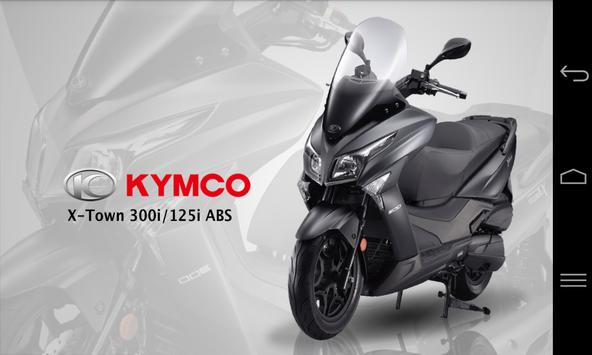 KYMCO X-town apk screenshot