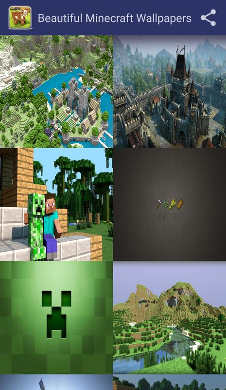 Beautiful Minecraft Wallpapers For Android