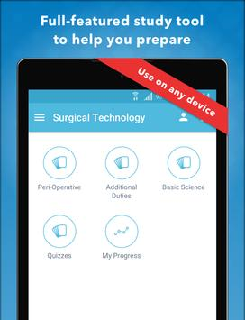 LANGE Surgical Tech Review apk screenshot