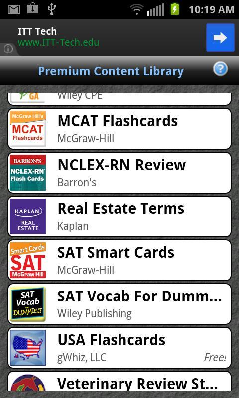 Gflash Flashcards Tests For Android Apk Download