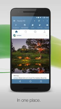 Facely HD Free for Facebook apk screenshot