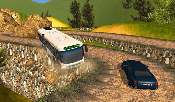 Off Road Bus Hill Climb Sim poster