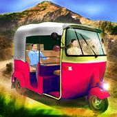 TukTuk Auto Rickshaw Simulator icon