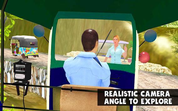 TukTuk Auto Rickshaw Simulator screenshot 5