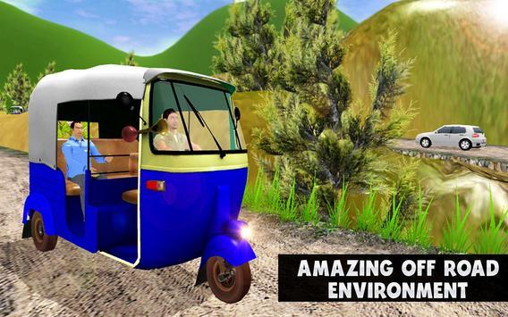 TukTuk Auto Rickshaw Simulator screenshot 13
