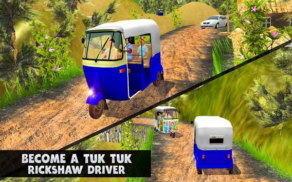 TukTuk Auto Rickshaw Simulator screenshot 2