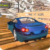 Realistic Fast Stunt Car Racing 3D icon