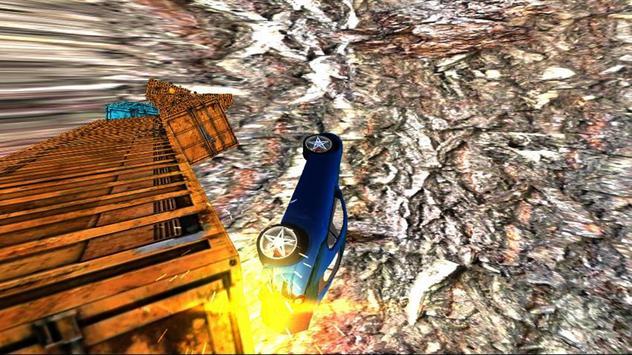 Realistic Fast Stunt Car Racing 3D screenshot 1
