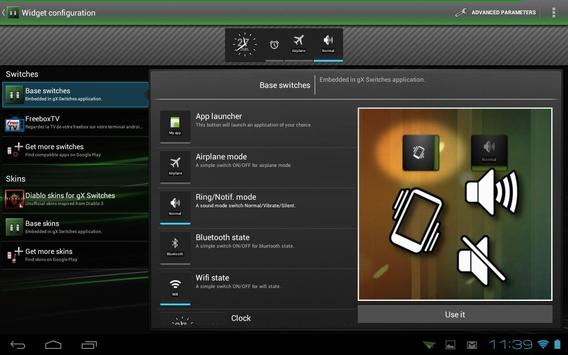 gX Switches apk screenshot