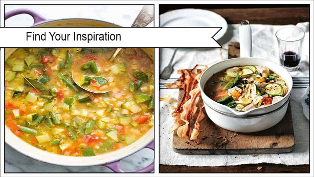 Savory Minestrone Soup Recipes poster