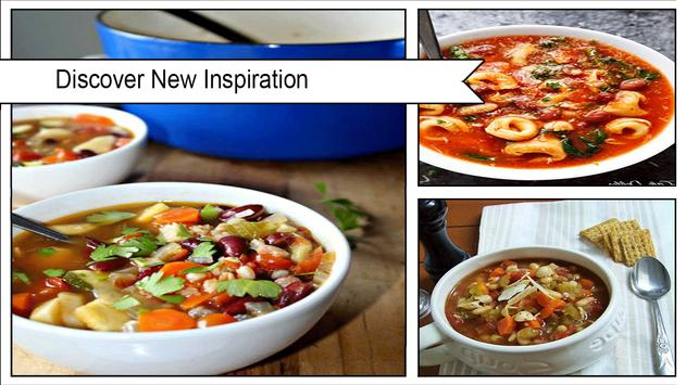 Savory Minestrone Soup Recipes screenshot 1