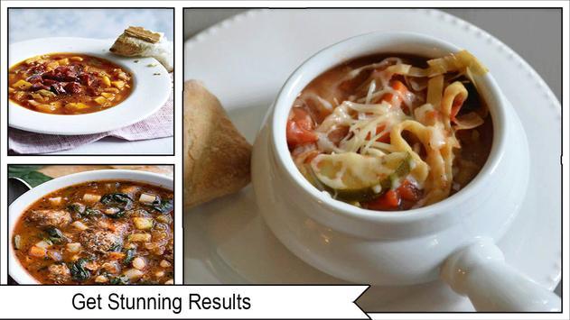 Savory Minestrone Soup Recipes screenshot 3