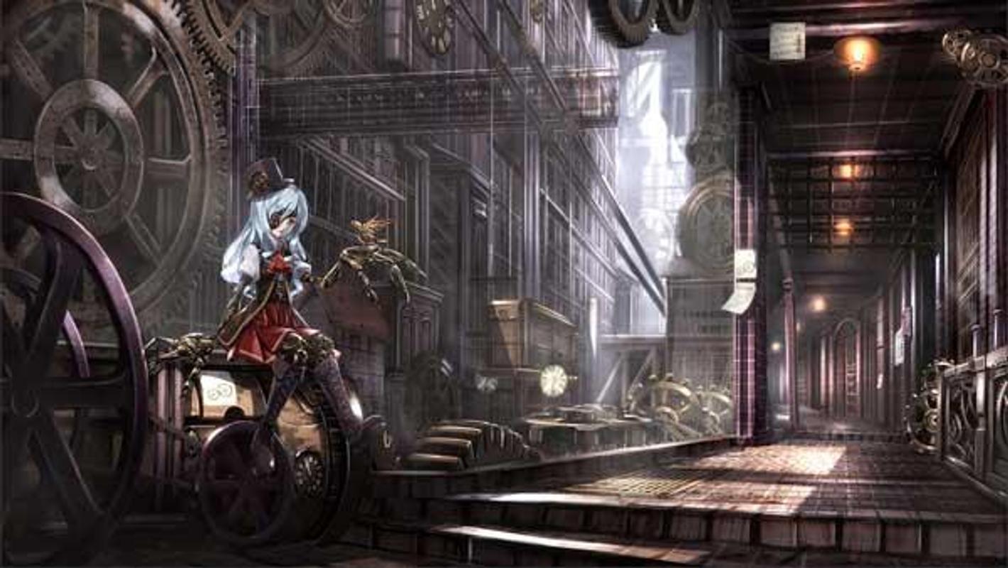 ... Steampunk Wallpaper HD Wallpaper screenshot 3 ...
