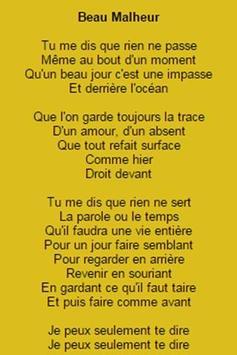 Letras Emmanuel Moire apk screenshot